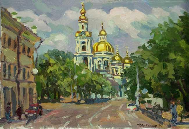 Елоховский собор. Худ. Ксения Черномор
