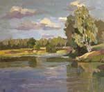 Русский пейзаж живопись ксении